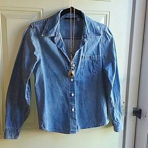 Gap 90's vintage denim shirt small